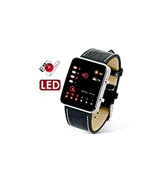 Reloj Binario LED  Amazon.es  Electrónica cb81fb6bb888