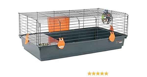 Zolux Jaula para Conejos/cobaye Orange 104 x 64 x 39 cm: Amazon.es ...