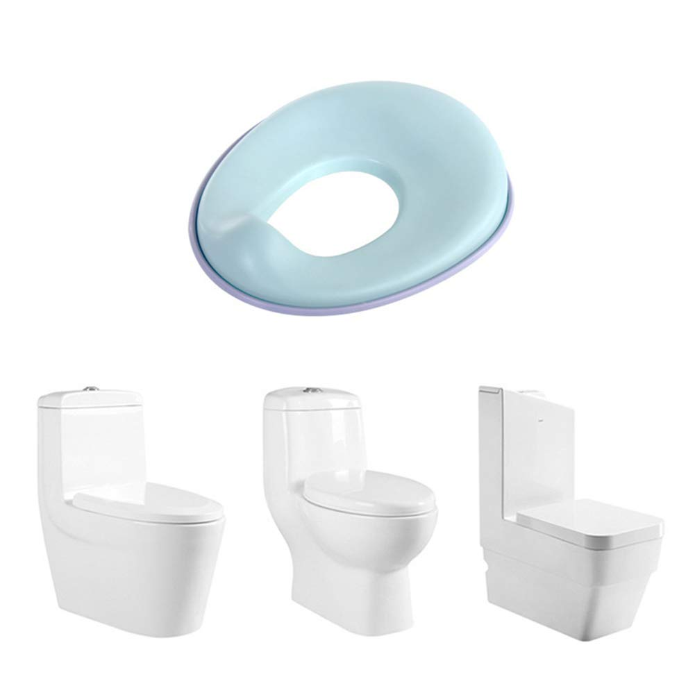 Comfortable Toilet Training Seat, Kids Non Slip Loo Seat for Safe Potty in The Bathroom And Home by HB Toilet Stool