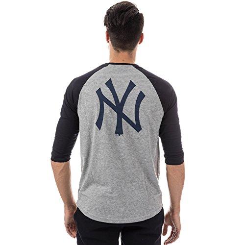 A NEW ERA Era Ne96422Fa16 MLB Raglan tee Neyyan Camiseta Manga Larga-Línea  York Yankees d0fa2fdfa0e
