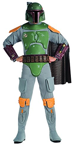 Boba Fett Deluxe Adult Costume - Adult-Costume Adult Deluxe Boba Fett Xl Halloween Costume