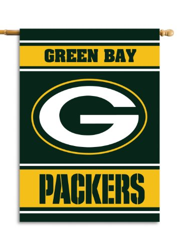 Fremont Die NFL Green Bay Packers 2-Sided 28-by-40-Inch House Banner