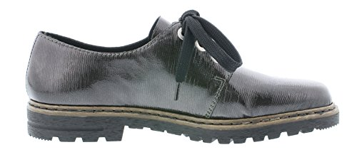 Anthrazit Rieker Sintético Cordones De Para Zapatos M4809 45 Mujer qHqZB14w