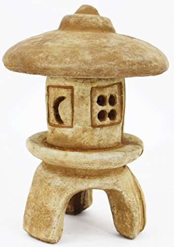 Yukimi Ornamental Concrete Pagoda Asian Garden Outdoor Lantern