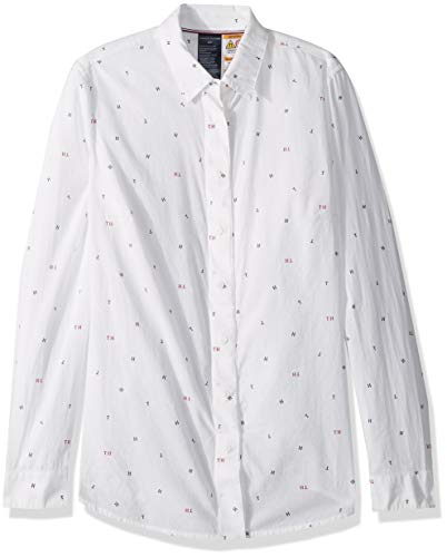 Tommy Hilfiger Womens Adaptive Magnetic Button Shirt Regular Fit