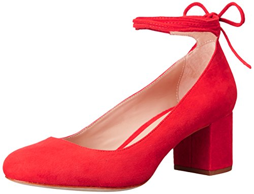 LOEFFLER RANDALL Women's Clara Dress Pump, Flame, 6.5 M US