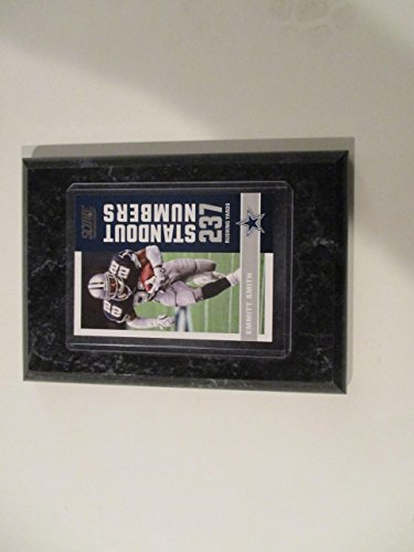 EMMITT SMITH DALLAS COWBOYS 2017 NFL SCORE STANDOUT NUMBERS 237 RUSHING YARDS PLAYER CARD MOUNTED ON A 4