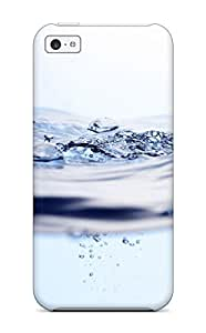 Defender Case For Iphone 5c, Nice Water Background Pattern