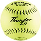 Dudley NSA Thunder ZN Slow Pitch Softball - 12 pack
