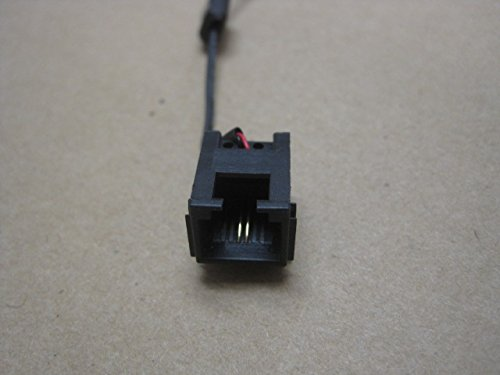 (modem ethernet jack with harness cable for TOSHIBA Satellite L505D-S5986 15.6