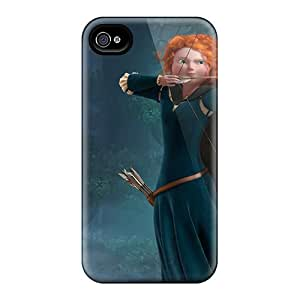 Hot FRoiN52105YMpGz Case Cover Protector For Iphone 4/4s- Princess Merida In Brave
