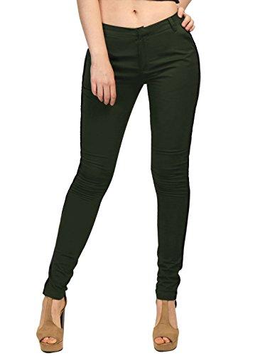 Allegra K Women Hook Eye Closure Slant P - Pencil Cotton Women Trousers Shopping Results