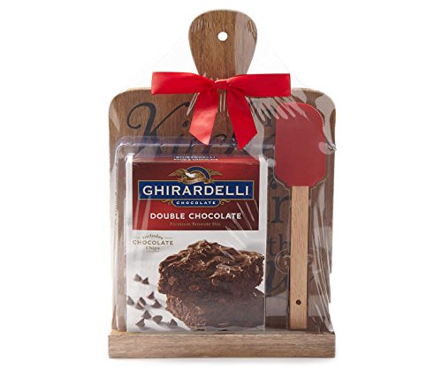 Ghirardelli Brownie Mix Gift Set with Recipe Stand