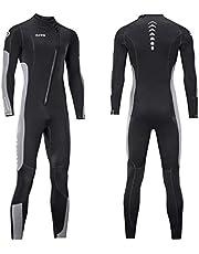 Kombinezon mokry dla mężczyzn i kobiet 3 mm neoprenowy kombinezon do nurkowania z zamkiem błyskawicznym z przodu do surfingu z zimną wodą