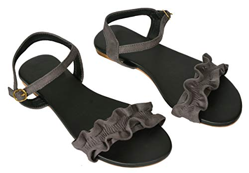 GIBELLE Comfortable Casual Flats Sandal/Slippers for Women and Girls