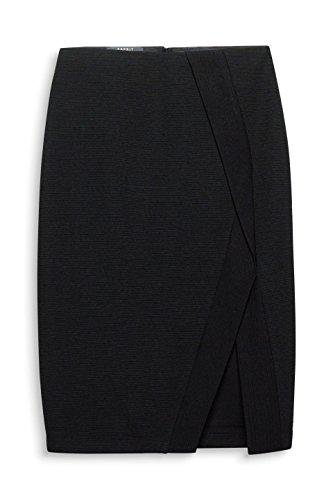 001 Femme Black Noir ESPRIT Collection Jupe qOXpwxa