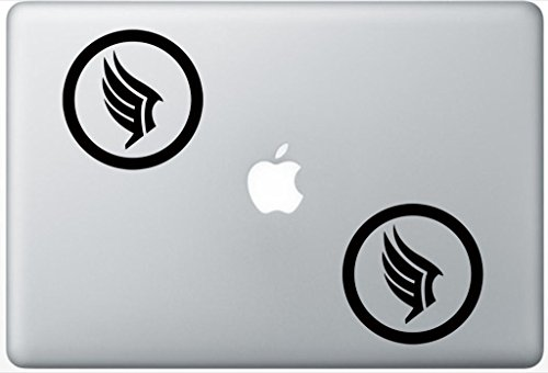 (Paragon Symbol Mass Effect Videogame ArcDecals78600963 Set Of Two (2x) , Decal , Sticker , Laptop , Ipad , Car , Truck )