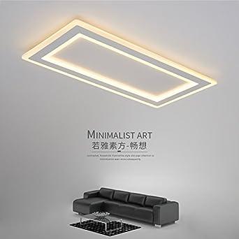 Wohnen Zimmer Lampe Einfach Moderne Atmosphärischen Rechteckige Led Lampe  Schlafzimmer Esszimmer Ideen Die Studie Lampe,