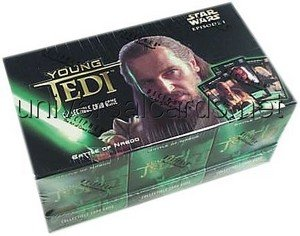 Young Jedi Ccg - Young Jedi CCG: Battle of Naboo Sealed Starter Deck Box