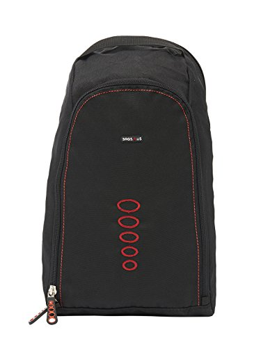 BagsRUs Red Shoe Bag  SH109FRD