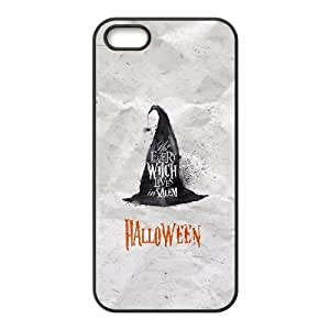 iPhone 5 5s Cell Phone Case Black Halloween Witch Hat SUX_903819