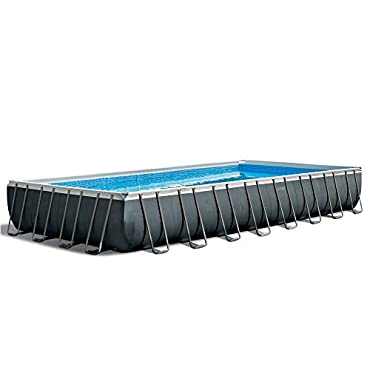 Intex 26377EH 32 Ft x 16 Ft x 52 Inch Ultra XTR Rectangular Frame Pool Set