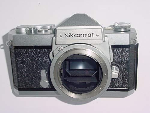 Chrome Nikon Nikkormat FTN 35MM Professional SLR film camera (Film Mm Camera Nikon Slr 35)