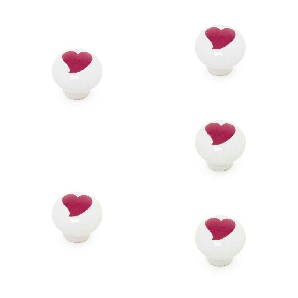 ABC bagno Maniglia Mobile da Porcellana 5/pezzi Fiore Blu