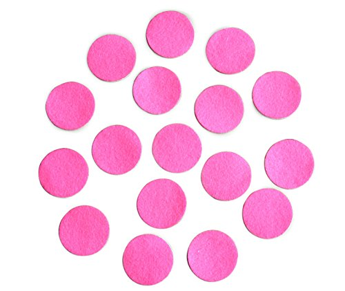 Do Costume Baby It Yourself Ideas Halloween (Hot Pink Adhesive Felt Circles; Package of 48 or 240 Wholesale, 1.5