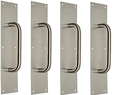 Rockwood 107 X 70c32d Stainless Steel Pull Plate 16 Height X 4
