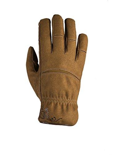 Noble Women'S Dakota Fleece Lined & Waterproof Glove Tobacco Small