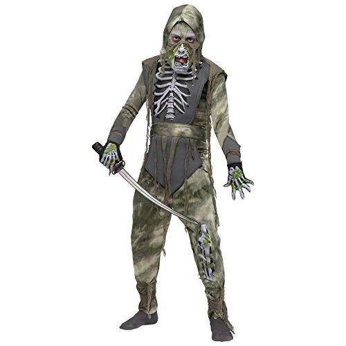 [Zombie Ninja Costume - Medium] (Ninja Zombie Costumes Child)