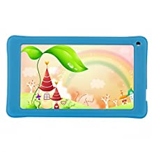 AOSON Android 4.4 Allwinner A33 Quad Core kids Tablet PC 7 Inch HD Touch Screen 1024x600 512MB+8GB WiFi Bluetooth Dual Camera M751S-BS2 Tablet
