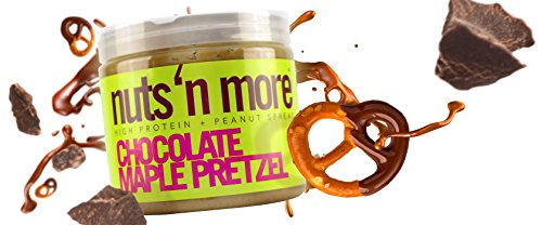 Nuts N More High Protein Chocolate Maple Pretzel Peanut Butter (16 oz)