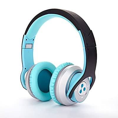 Syllable G800 Audiophiles Wireless Bluetooth Headphone Earmuffs Noise Cancelling Noise Reducing Noise Isolating Hi-fi Bluetooth Headset Deep Base Calf Hide Adjustable Foldable