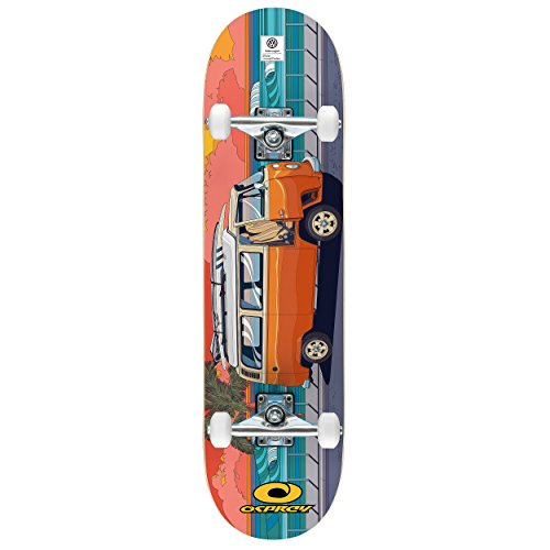 Osprey VW Complete Beginners Double Trick Kick Skateboard, Volkswagen...