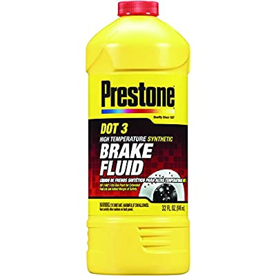 Prestone 32 Ounce AS401 DOT 3 Synthetic Brake Fluid-32 oz: Automotive
