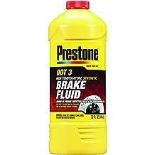 Prestone 32 Ounce AS401 DOT 3 Synthetic Brake Fluid-32 oz