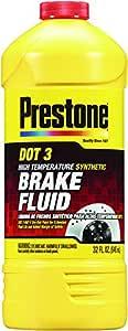 Prestone AS401 DOT 3 Synthetic Brake Fluid - 32 oz.