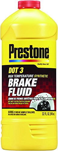 Prestone 32 Ounce AS401 DOT 3 Synthetic Brake Fluid-32 oz