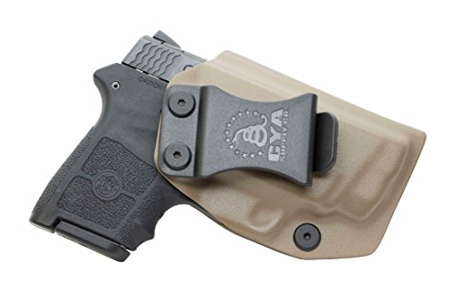 CYA Supply Co. IWB Holster Fits: Smith & Wesson M&P Bodyguard 380 Auto & Integrated Laser - Veteran Owned Company - Made in USA - Inside Waistband Concealed Carry Holster (Smith & Wesson M&p Bodyguard 380 Review)