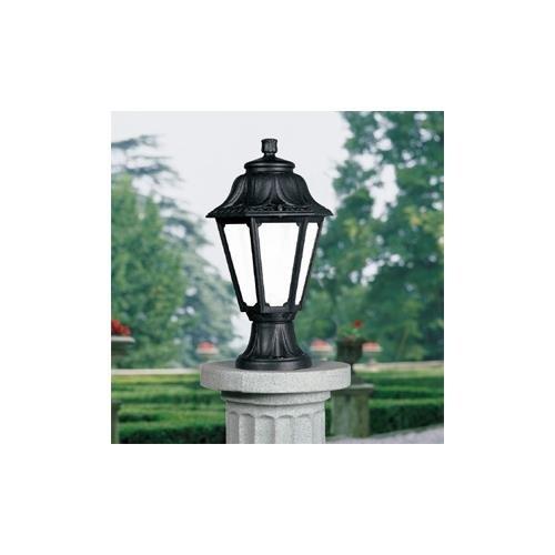 ジェフコム 門柱灯 (クラシックシリーズ) 屋外用 防湿防雨 FG-SF103BKM B00FPDNLTO