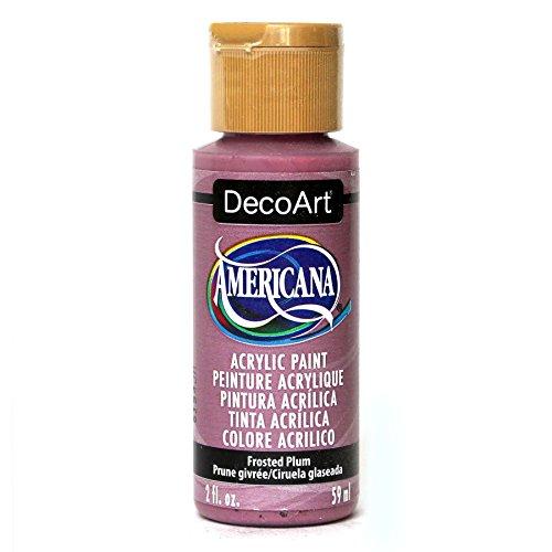 DecoArt Deca.335 Americana Acrylic Frosted Plum, 2 oz