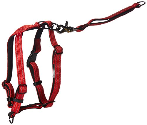 - SPORN Ultimate Control Dog Harness, Red, Medium