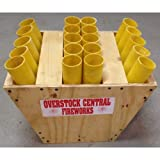 Fireworks Fan Rack 20 Shot With 1.75'' Fiberglass Mortar Tubes
