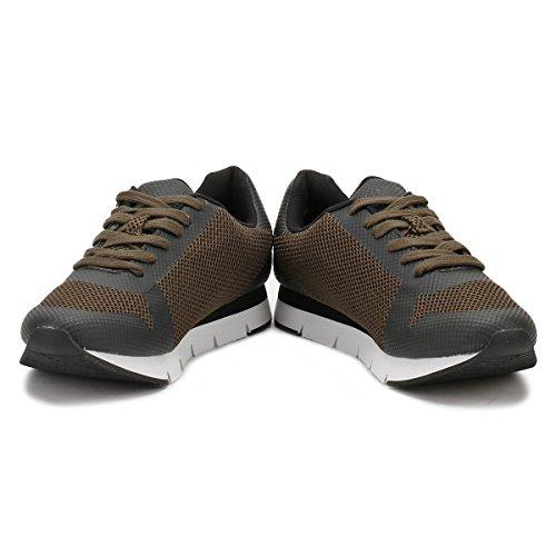 Noir Sneaker HF Calvin Jacques Uomo Klein Mesh xqwnP470