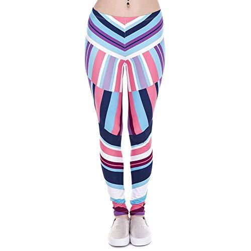 Donna Stampa Zag Africano Zig Yoga Fitness A Lga43851 Leggings Legging Vita Casuale Silm Nuove Donne Autunno Pantaloni Inverno Alta Battercake RnAUqgK