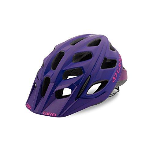 Giro Hex Cycling Helmet - Matte Purple/Bright Pink Large