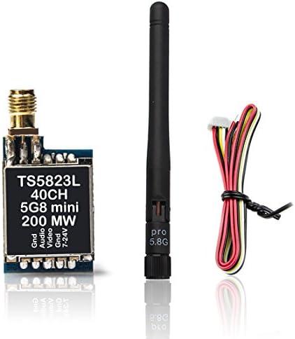 AKK TS5823L 5.8G 200MW Mini AV Transmitter RP-SMA Female for FPV Drone