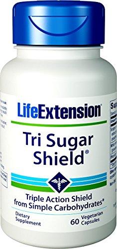 Leaf 60 Vegetarian Capsules - Life Extension Tri Sugar Shield, 60 Vegetarian Capsules